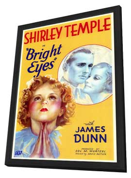 Bright Eyes - 11 x 17 Movie Poster - Style A - in Deluxe Wood Frame