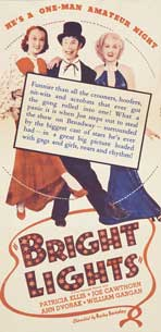 Bright Lights - 20 x 40 Movie Poster - Style A
