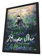Bright Star - 27 x 40 Movie Poster - French Style A - in Deluxe Wood Frame