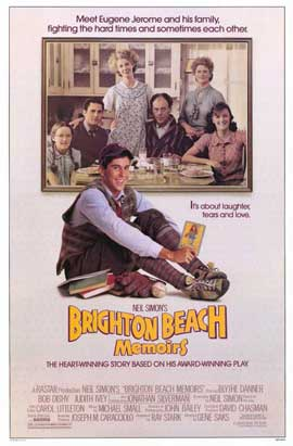 Brighton Beach Memoirs - 11 x 17 Movie Poster - Style A