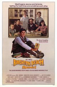 Brighton Beach Memoirs - 27 x 40 Movie Poster - Style A