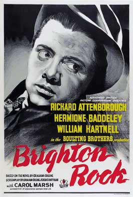 Brighton Rock - 11 x 17 Movie Poster - UK Style C