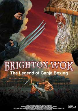 Brighton Wok: The Legend of Ganja Boxing - 11 x 17 Movie Poster - Style A
