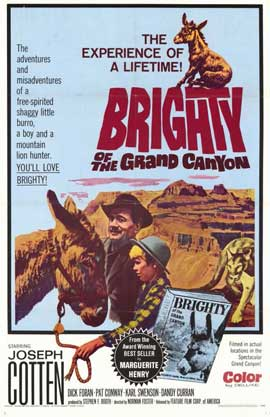 Brighty of the Grand Canyon - 11 x 17 Movie Poster - Style A