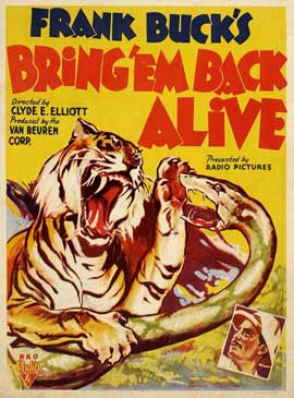 Bring 'Em Back Alive - 11 x 17 Movie Poster - Style A