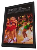 Bring It On - 11 x 17 Movie Poster - Style B - in Deluxe Wood Frame