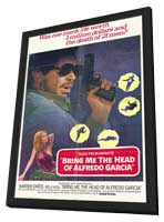 Bring Me the Head of Alfredo Garcia - 11 x 17 Movie Poster - Style D - in Deluxe Wood Frame