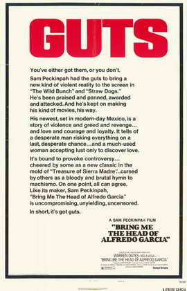 Bring Me the Head of Alfredo Garcia - 11 x 17 Movie Poster - Style C