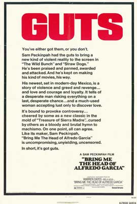 Bring Me the Head of Alfredo Garcia - 27 x 40 Movie Poster - Style A