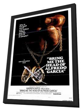 Bring Me the Head of Alfredo Garcia - 27 x 40 Movie Poster - Style B - in Deluxe Wood Frame