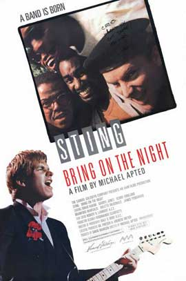 Bring on the Night - 11 x 17 Movie Poster - Style A