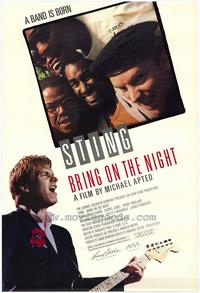 Bring on the Night - 43 x 62 Movie Poster - Bus Shelter Style A