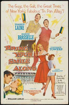 Bring Your Smile Along - 27 x 40 Movie Poster - Style B