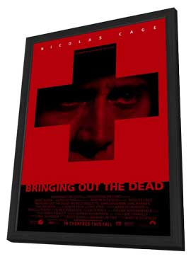 Bringing Out the Dead - 11 x 17 Movie Poster - Style A - in Deluxe Wood Frame