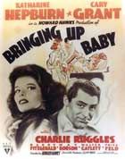 Bringing Up Baby - 11 x 17 Movie Poster - Style G