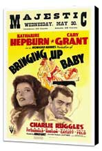 Bringing Up Baby - 27 x 40 Movie Poster - Style A - Museum Wrapped Canvas