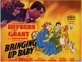 Bringing Up Baby - 11 x 17 Movie Poster - Style B