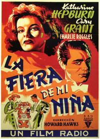 Bringing Up Baby - 11 x 17 Movie Poster - Spanish Style A