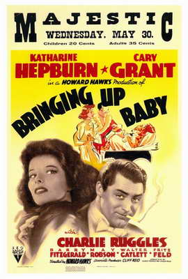 Bringing Up Baby - 27 x 40 Movie Poster - Style A
