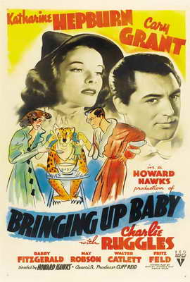 Bringing Up Baby - 27 x 40 Movie Poster - Style C