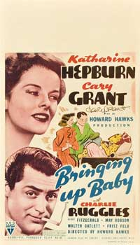 Bringing Up Baby - 14 x 22 Movie Poster - Window Card