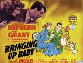 Bringing Up Baby - 11 x 14 Movie Poster - Style B