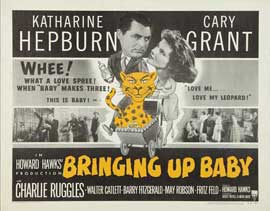 Bringing Up Baby - 22 x 28 Movie Poster - Half Sheet Style A