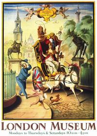 Britannia Visits the London Museum - 11 x 17 Movie Poster - Style A