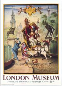 Britannia Visits the London Museum - 43 x 62 Movie Poster - Bus Shelter Style A