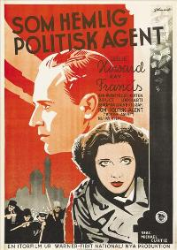 British Agent - 27 x 40 Movie Poster - Swedish Style A