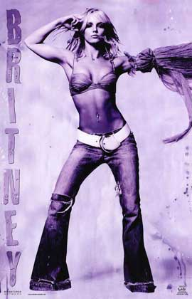 Britney Spears - 11 x 17 Music Poster - Style A