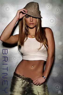 Britney Spears - Music Poster - 22 x 34 - Style D