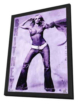 Britney Spears - 11 x 17 Music Poster - Style A - in Deluxe Wood Frame