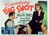 Broadway Big Shot - 11 x 14 Movie Poster - Style A