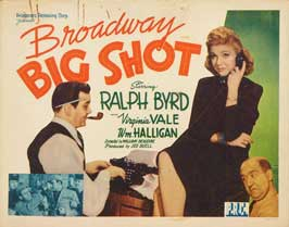 Broadway Big Shot - 22 x 28 Movie Poster - Half Sheet Style A