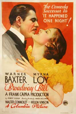 Broadway BIll - 11 x 17 Movie Poster - Style A