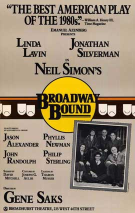 Broadway Bound (Broadway) - 27 x 40 Movie Poster - Style A