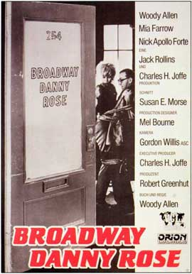Broadway Danny Rose - 11 x 17 Movie Poster - German Style A