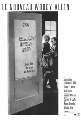 Broadway Danny Rose - 27 x 40 Movie Poster - French Style A