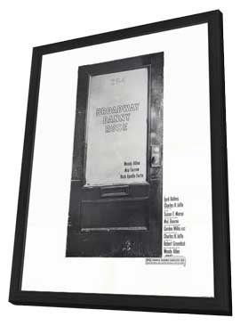 Broadway Danny Rose - 27 x 40 Movie Poster - Style A - in Deluxe Wood Frame