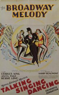 Broadway Melody - 43 x 62 Movie Poster - Bus Shelter Style A