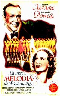 Broadway Melody of 1936 - 11 x 17 Movie Poster - Spanish Style A