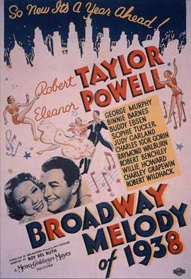 Broadway Melody of 1938 - 11 x 17 Movie Poster - Style B