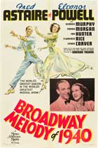 Broadway Melody of 1940 - 27 x 40 Movie Poster - Style A