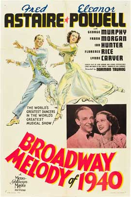 Broadway Melody of 1940 - 11 x 17 Movie Poster - Style A