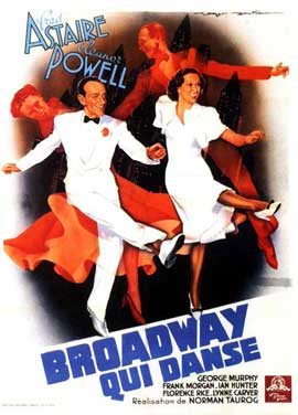 Broadway Melody of 1940 - 11 x 17 Movie Poster - French Style B