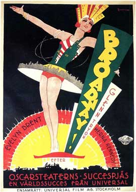 Broadway - 27 x 40 Movie Poster - Spanish Style A