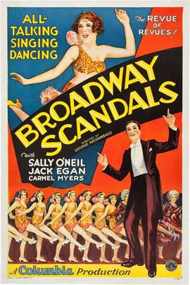 Broadway Scandals - 27 x 40 Movie Poster - Style A