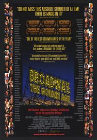 Broadway: The Golden Age - 43 x 62 Movie Poster - Bus Shelter Style A