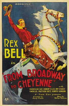 Broadway to Cheyenne - 27 x 40 Movie Poster - Style A